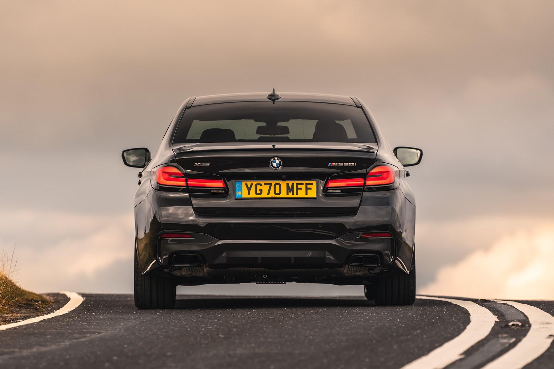 BMW 5 Series M550i xDrive rear 2020