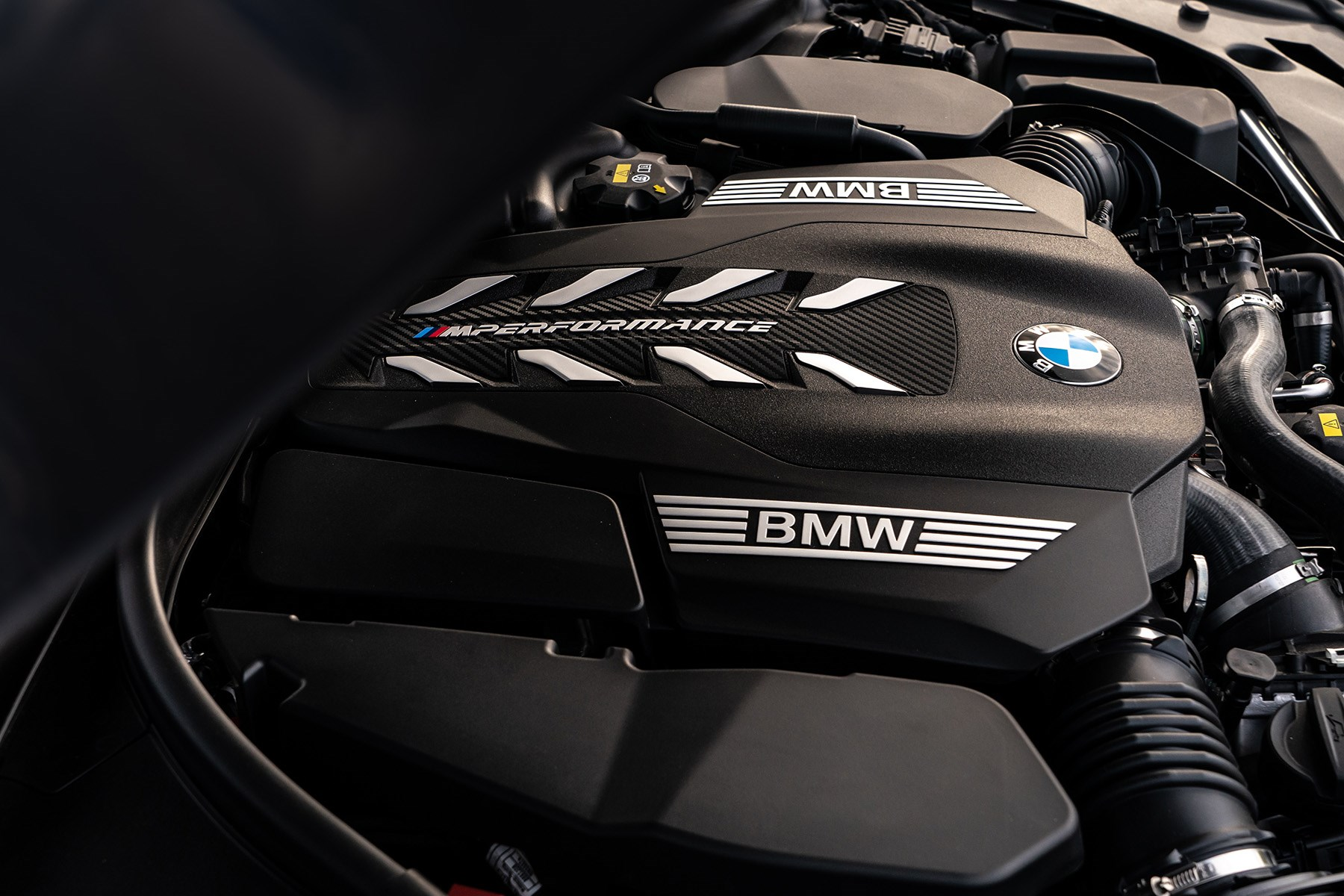 BMW 5 Series M550i xDrive N63 V8 engine 2020
