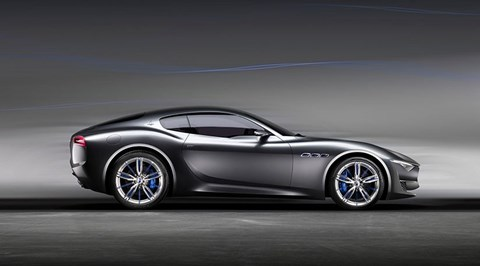Maserati Alfieri concept, photographed for CAR by John Wycherley