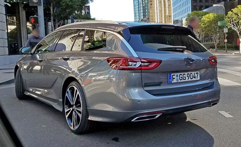 We spied new Insignia undisguised in the US