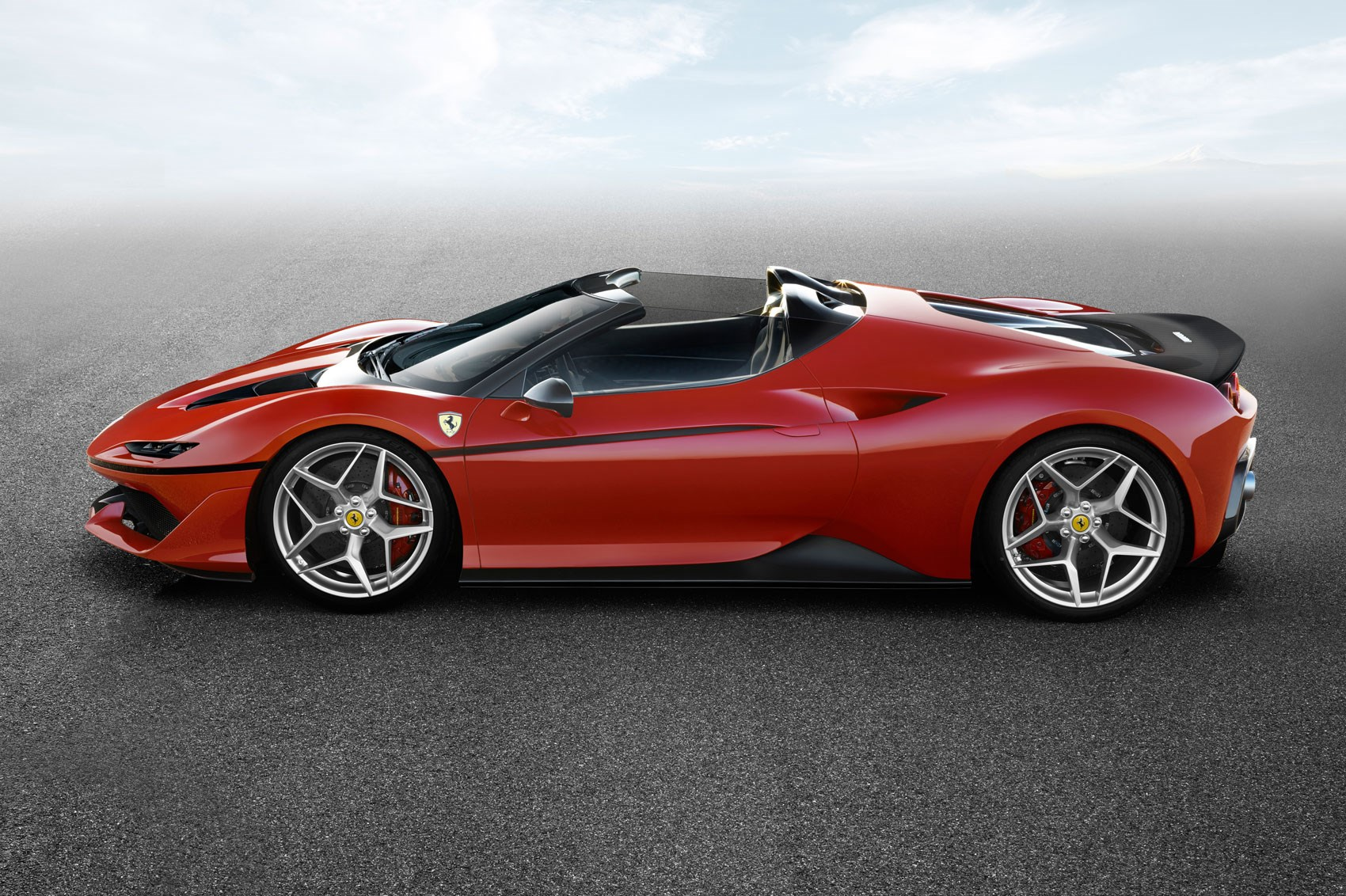Ferrari J50 Revealed Ten Bespoke Roadsters For Japan By