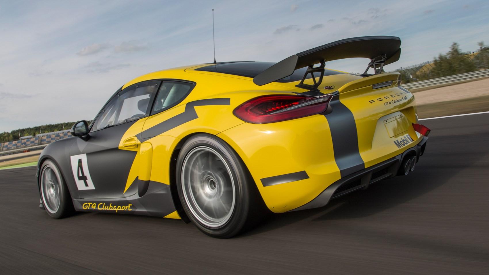 Gt4 Clubsport For Sale >> Porsche Cayman GT4 Clubsport (2017) review | CAR Magazine
