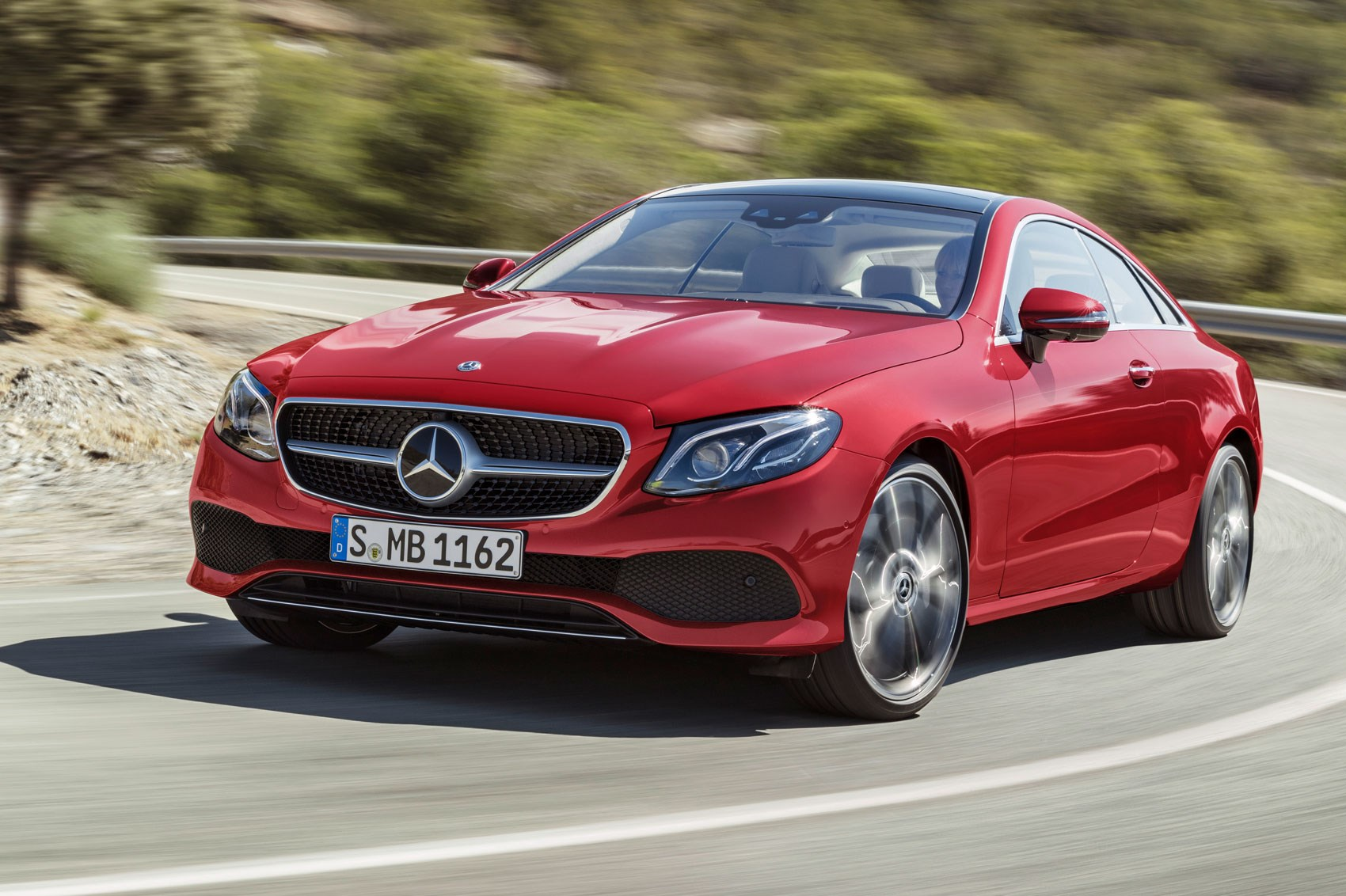 New mercedes e class coupe revealed latest two door on for The latest mercedes benz