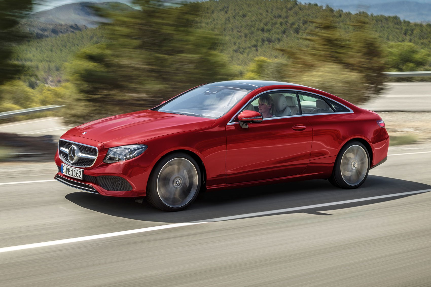New mercedes e class coupe revealed latest two door on for New e series mercedes benz