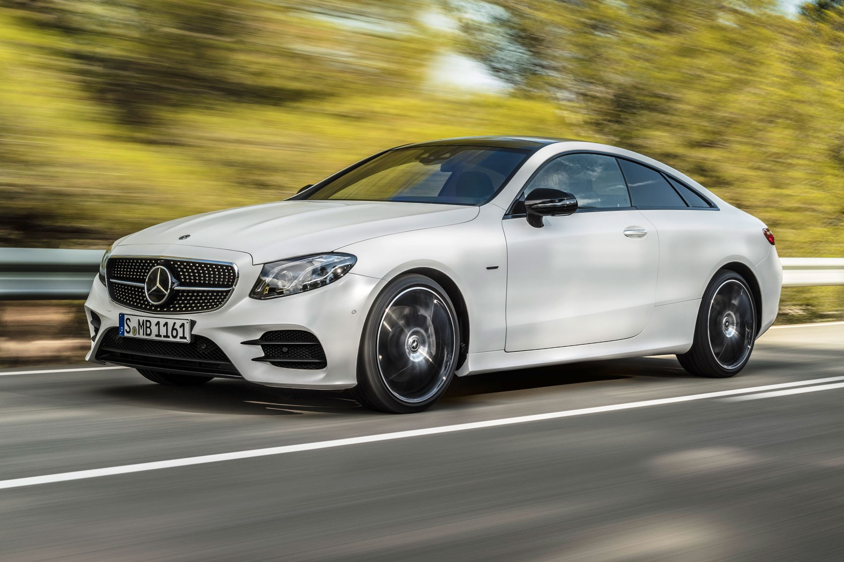 new mercedes e-class coupe revealed: latest two-door on sale for