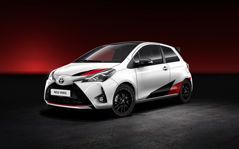 The Toyota Yaris pocket rocket
