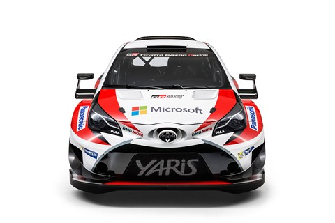 Toyota Yaris WRC car for 2017