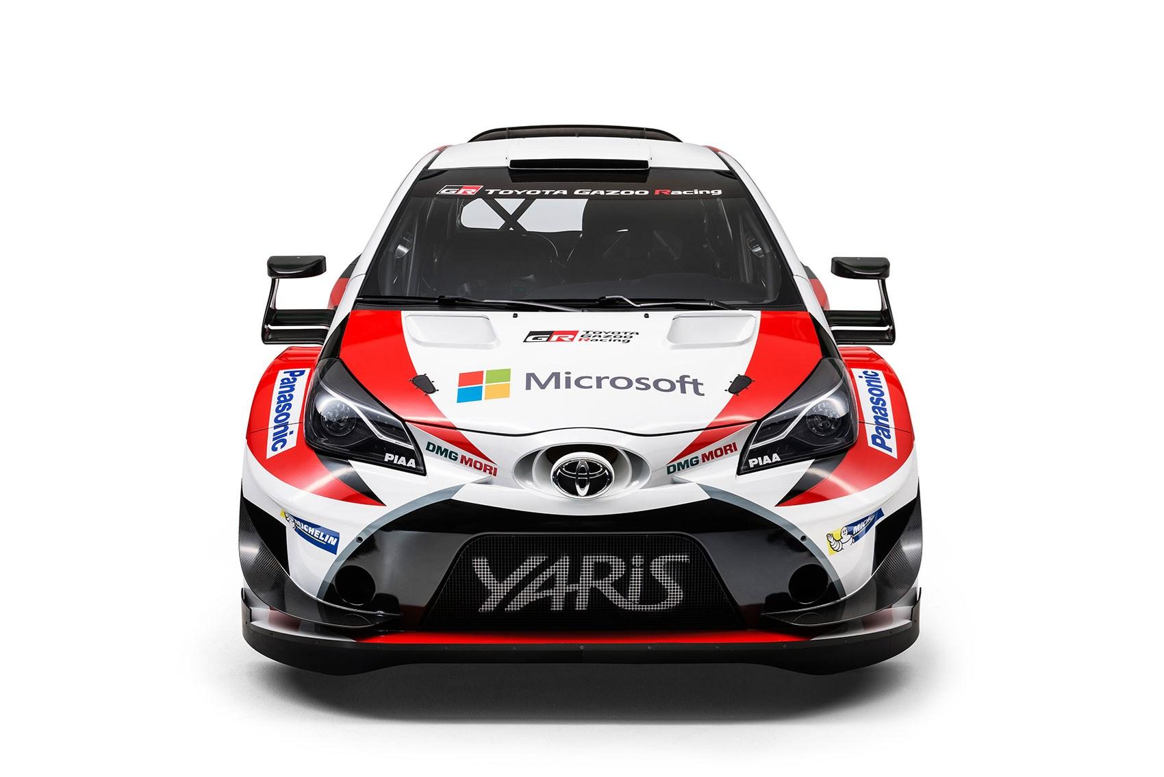 The New 2017 Toyota Yaris Wrc Car