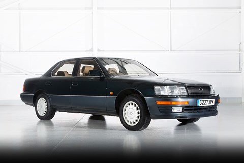 The original 1989 Lexus LS: a game-changer