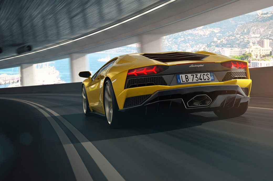 New 2017 Lamborghini Aventador S Unveiled Car Magazine