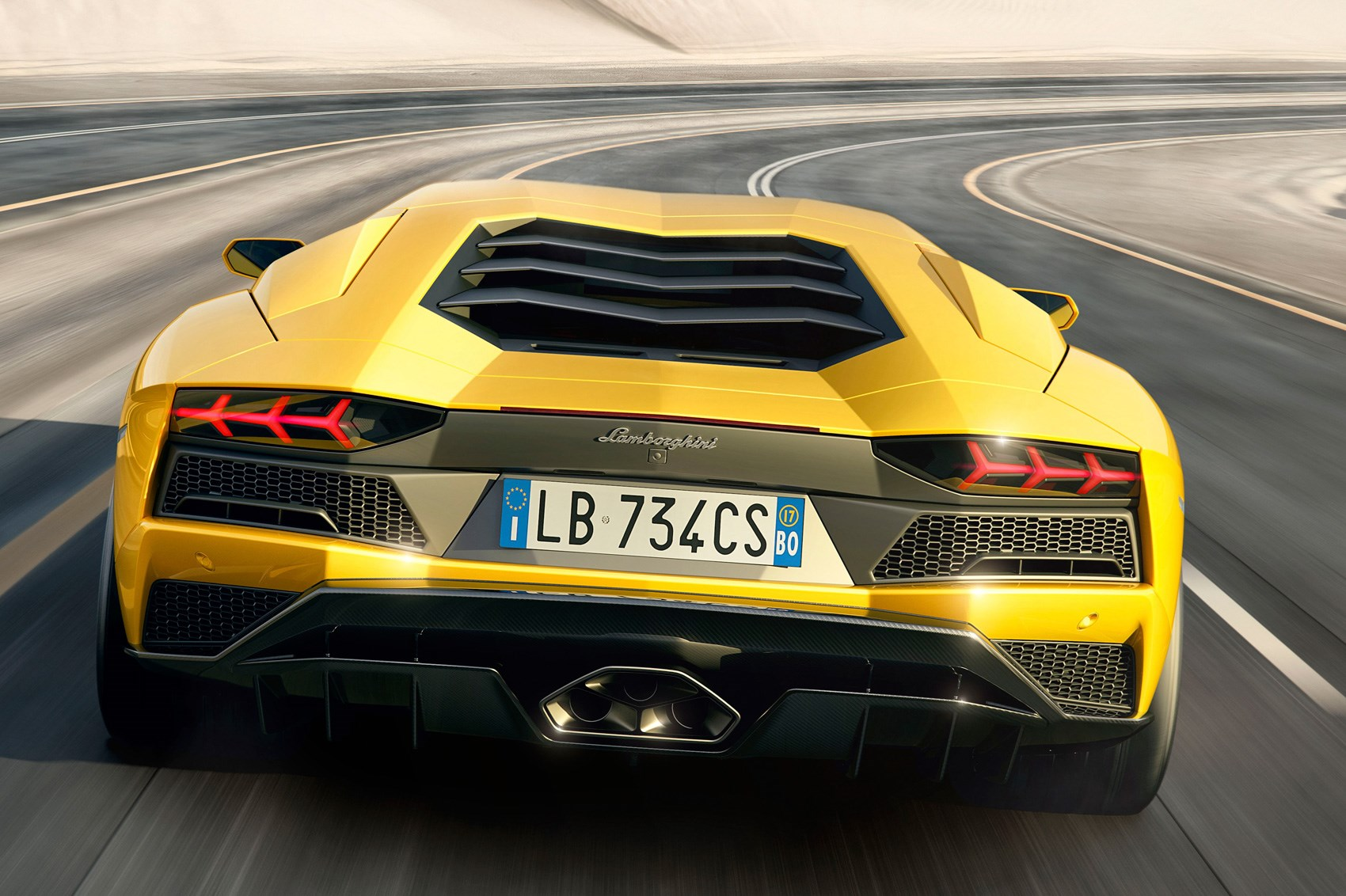 New 2017 Lamborghini Aventador S Unveiled Car Magazine