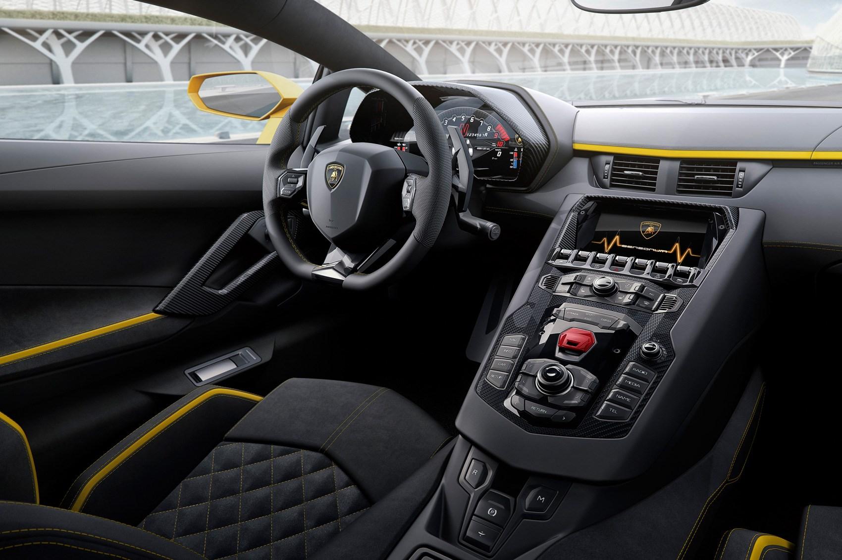 New 2017 Lamborghini Aventador S Unveiled By Car Magazine