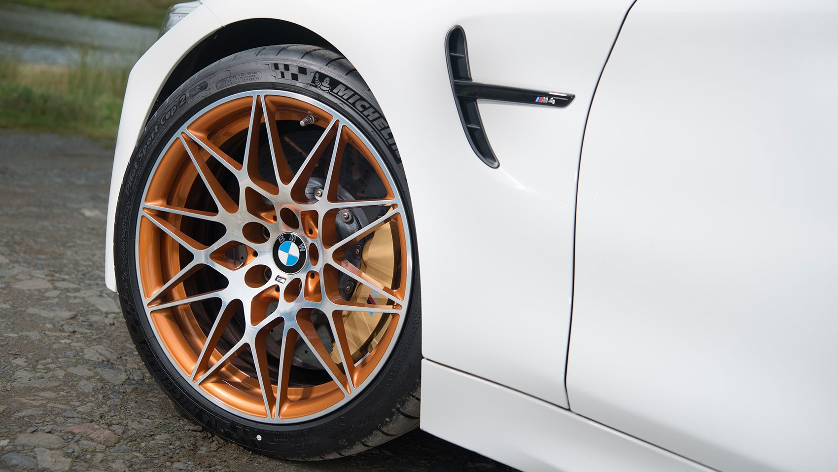 Alloy wheels and Cup tyres part of the upgrade on BMW M4 GTS