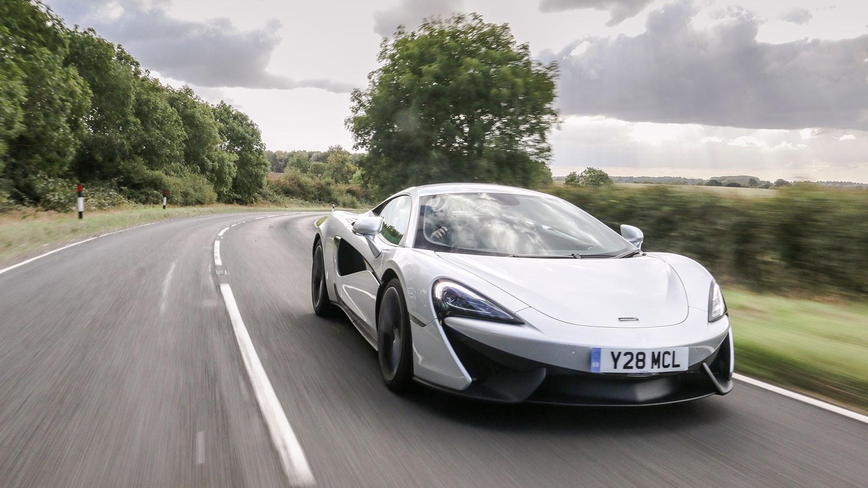 McLaren 540C 2017 review by CAR Magazine
