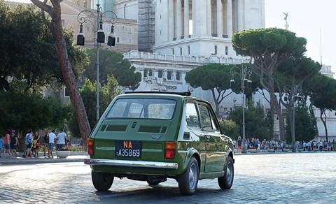 Across Italy in a Fiat 126