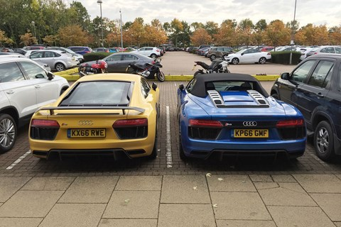 Coupe or Spider? We test both Audi R8 bodystyles
