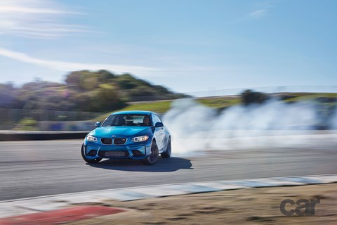 Slip-sliding in the BMW M2