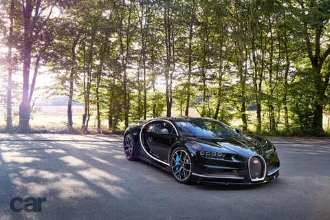 Bugatti Chiron: we hitched along for a ride