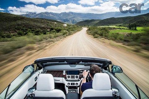 Rolls-Royce Dawn across South Africa