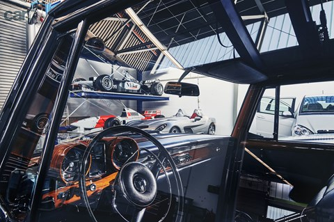 Inside Mercedes' secret museum vaults