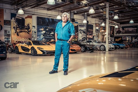Jay Leno's garage. We want!