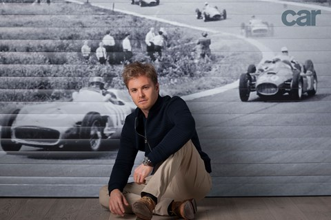 Andrew Shaylor photographs Nico Rosberg for CAR