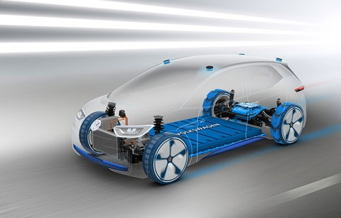 Volkswagen's MEB electric architecture will spawn a Skoda crossover too