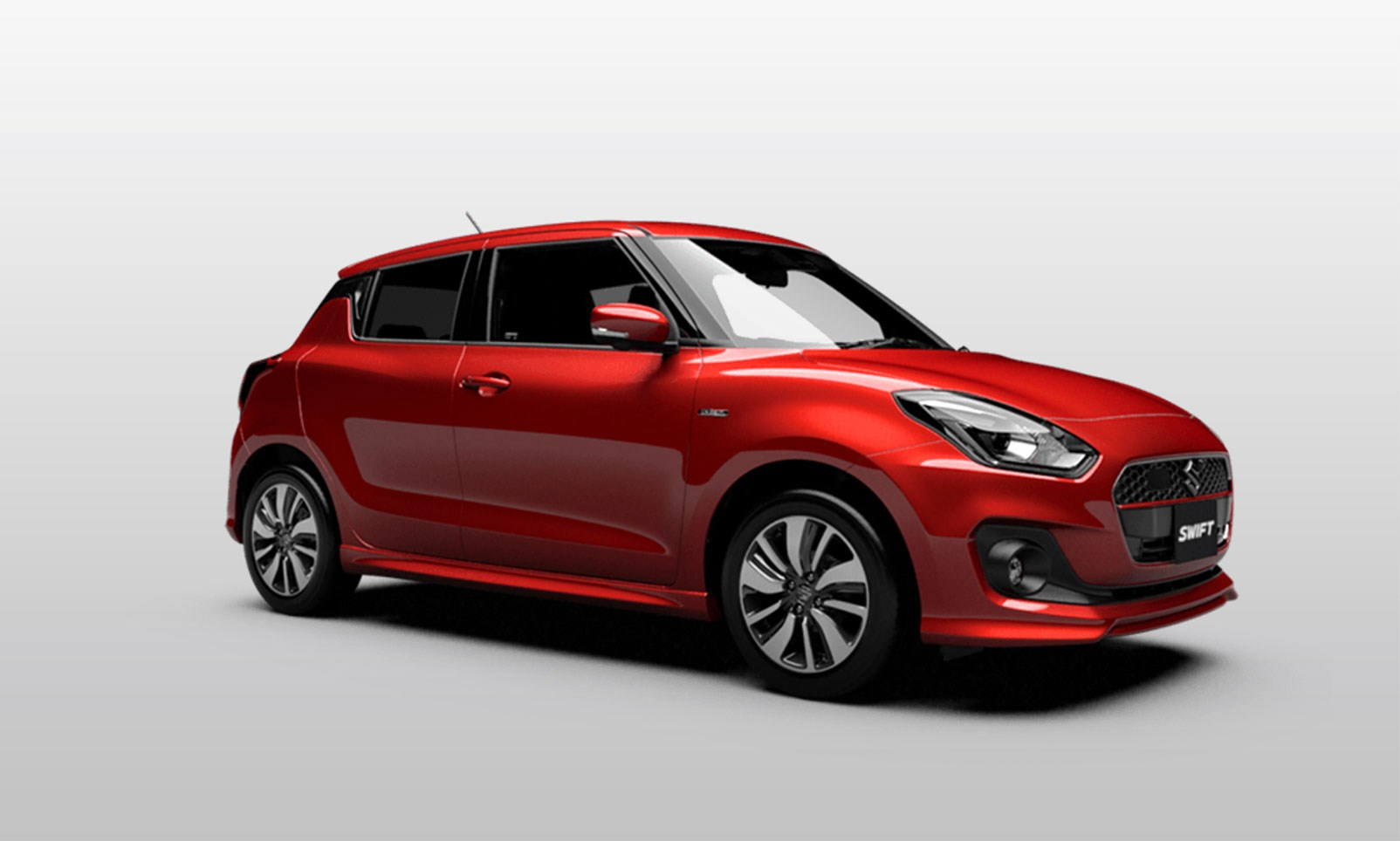 new 2017 suzuki swift goes five doors only car magazine. Black Bedroom Furniture Sets. Home Design Ideas