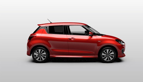 The new 2017 Suzuki Swift