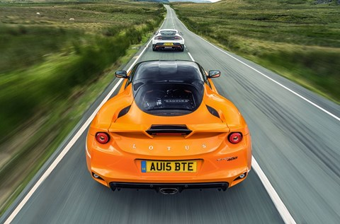 Lotus Evora 400, photographed for CAR by Richard Pardon