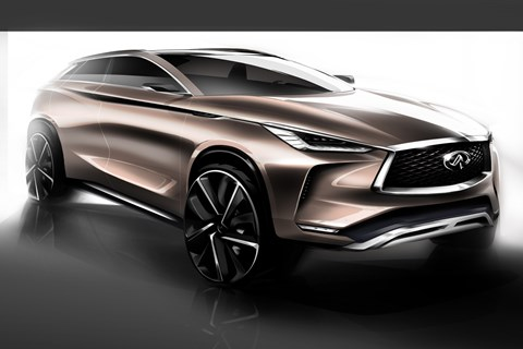 Infiniti QX50 Concept render