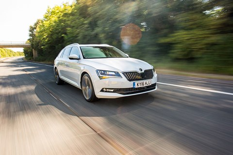 Skoda Superb Estate, photographed for CAR by Chris Teagles