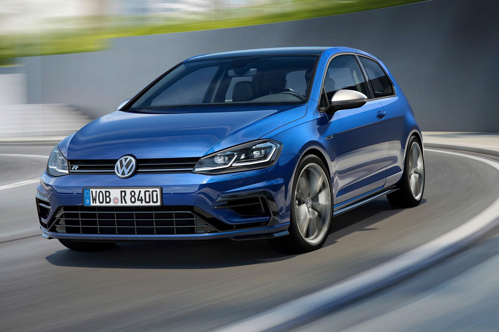 new ish vw golf r for 2017 fast golf gets a facelift car magazine. Black Bedroom Furniture Sets. Home Design Ideas
