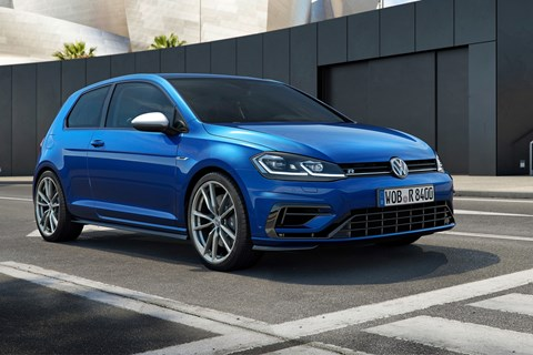 VW Golf R 2017 hatchback