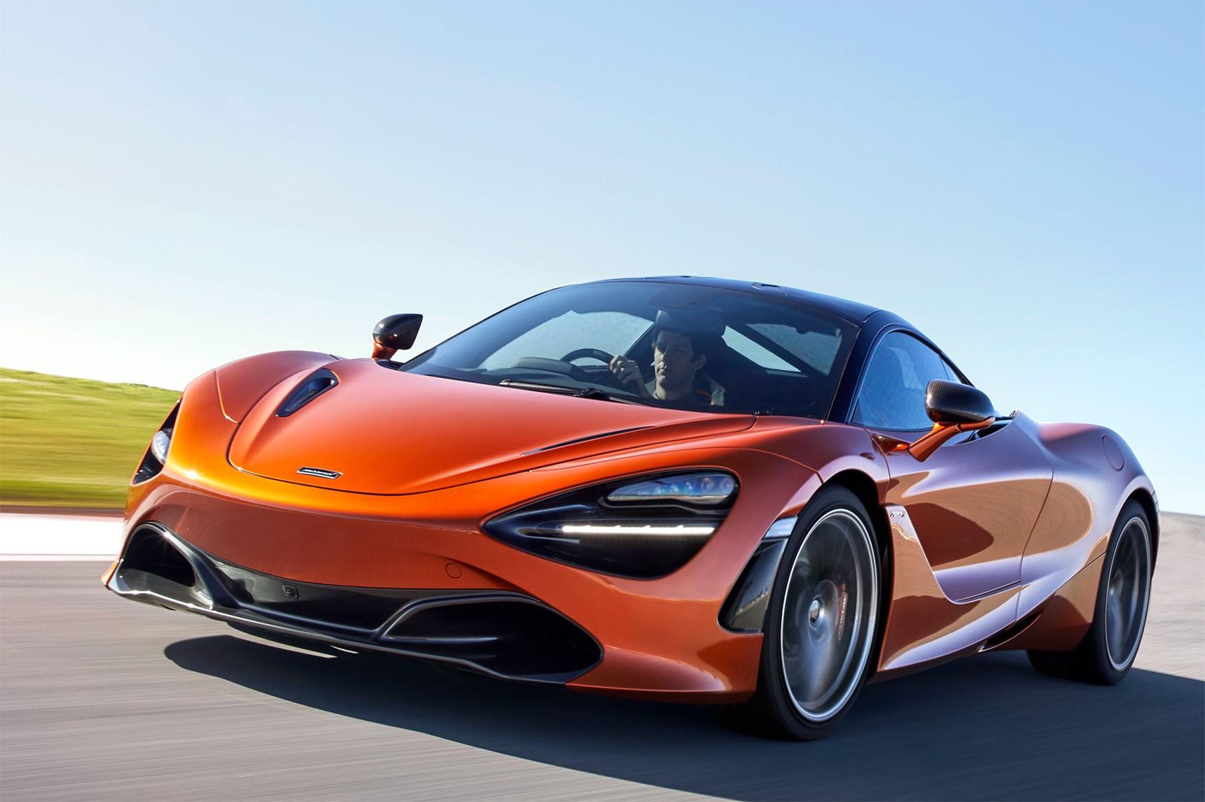 McLaren storms into
