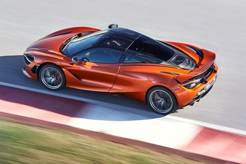 McLaren 720S at Geneva 2017
