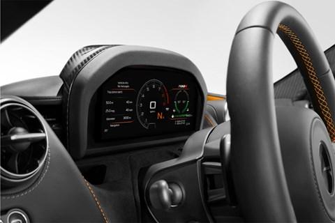 McLaren 720S at Geneva 2017 - interior