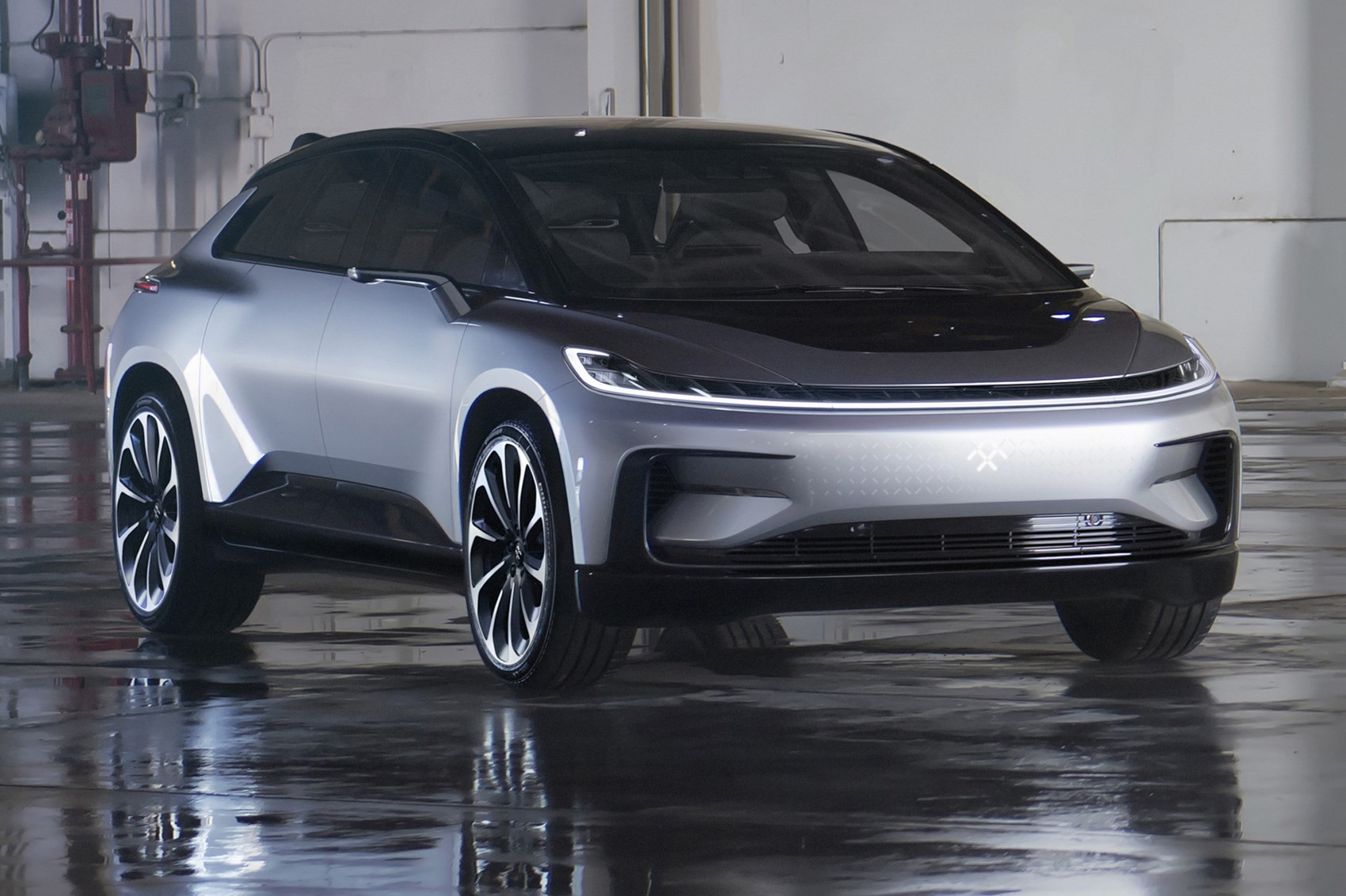Faraday Future Ff 91 Super Quick Complicated Ev Revealed At Ces 2017