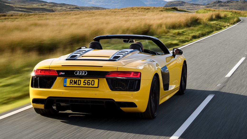 Audi R V Spyder Review CAR Magazine - Audi r8 convertible