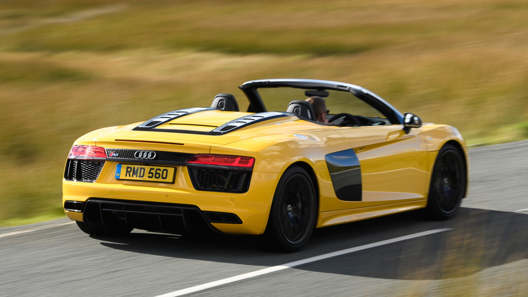 Audi R8 V10 Spyder (2017) review by CAR Magazine