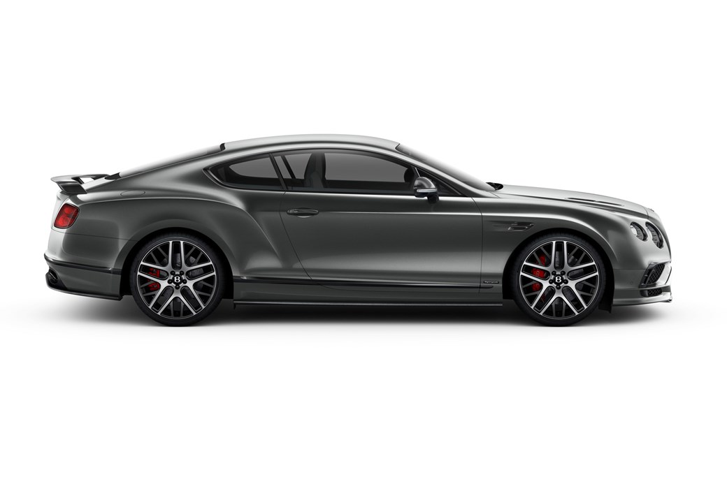 2017 Bentley Continental GT Supersports: The Stats