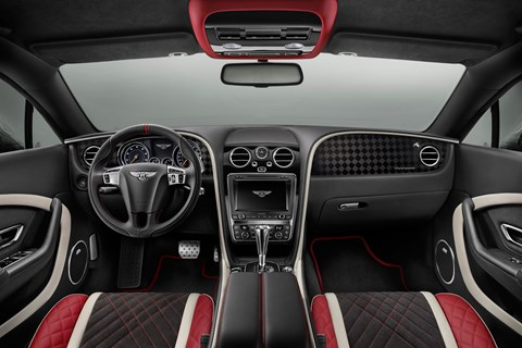 Bentley Continental Supersport 2017 interior