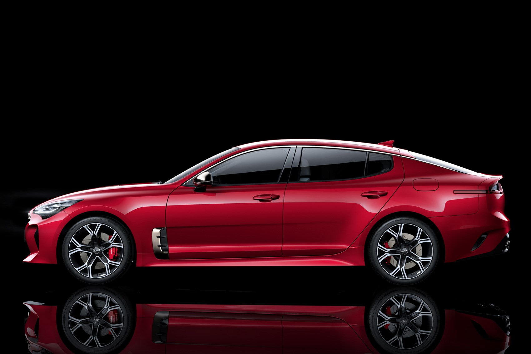 kia turns up the heat new stinger fastback unveiled in detroit by car magazine. Black Bedroom Furniture Sets. Home Design Ideas