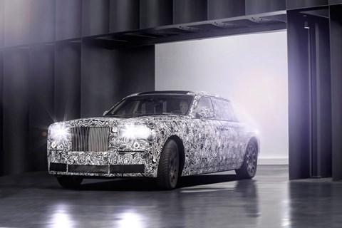 The new 2018 Rolls-Royce Phantom