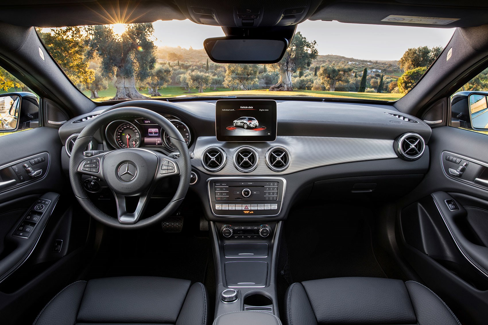 Shinier Interior Trim For 2017 Inside The Gla