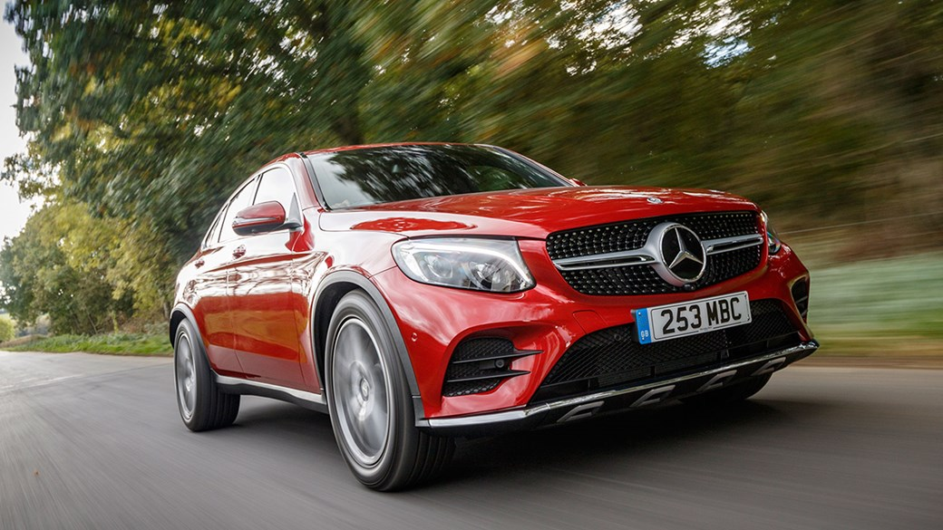 Mercedes Benz Glc250d 4matic Amg Line Coupe 2017 Uk Review