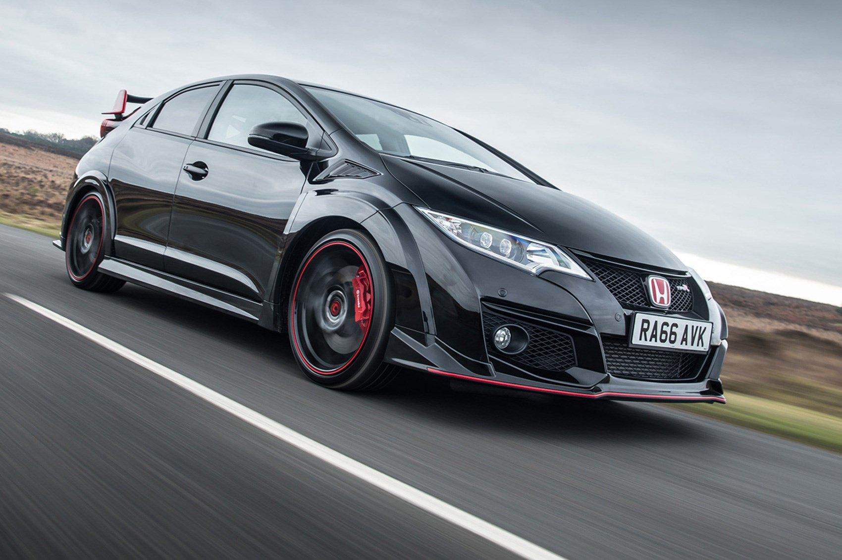 Honda Civic Type R Black Edition 2017 Run Out Model Marks End Of Cur