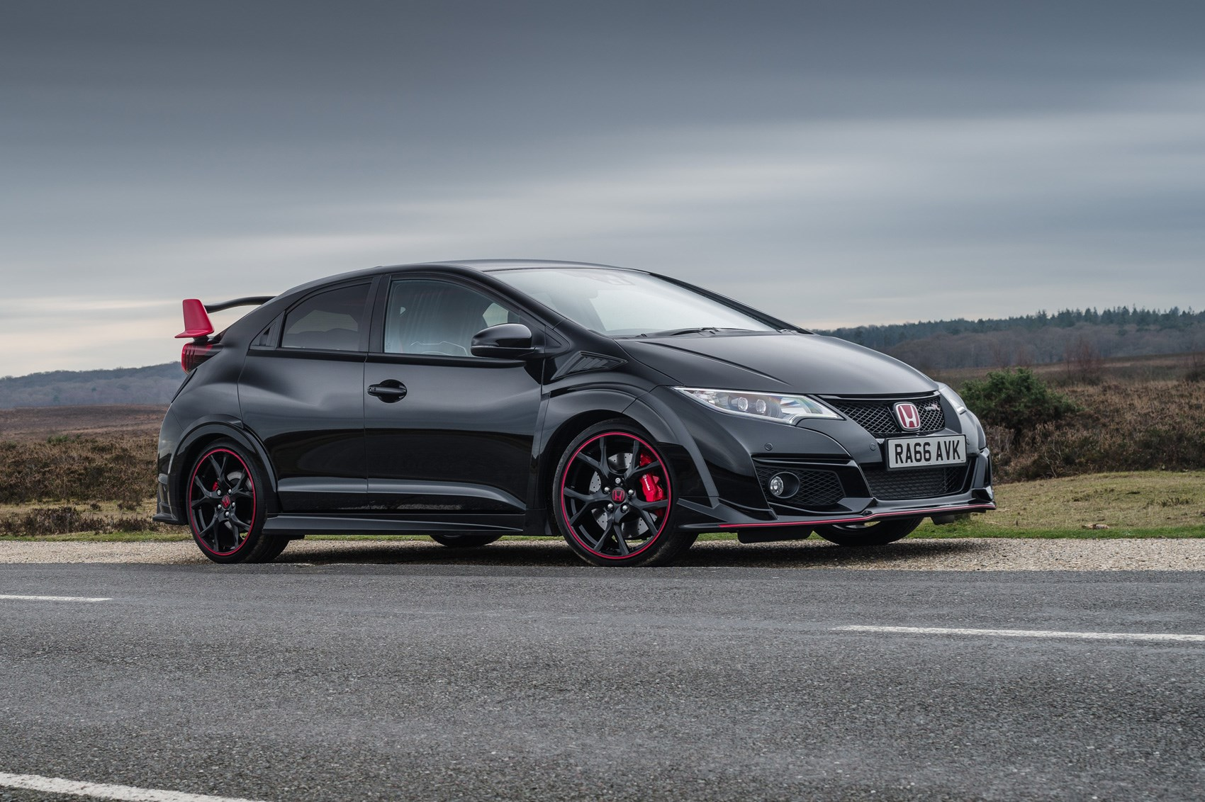 honda civic type r black edition 2017 run out model marks. Black Bedroom Furniture Sets. Home Design Ideas