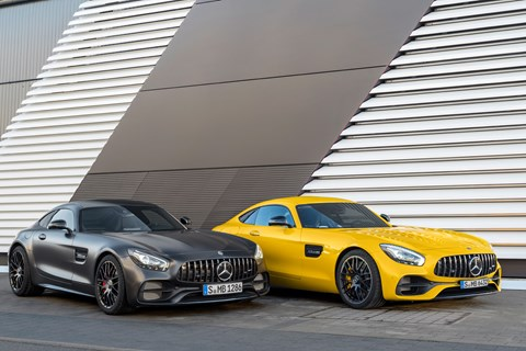 AMG GT C and GT S 2017