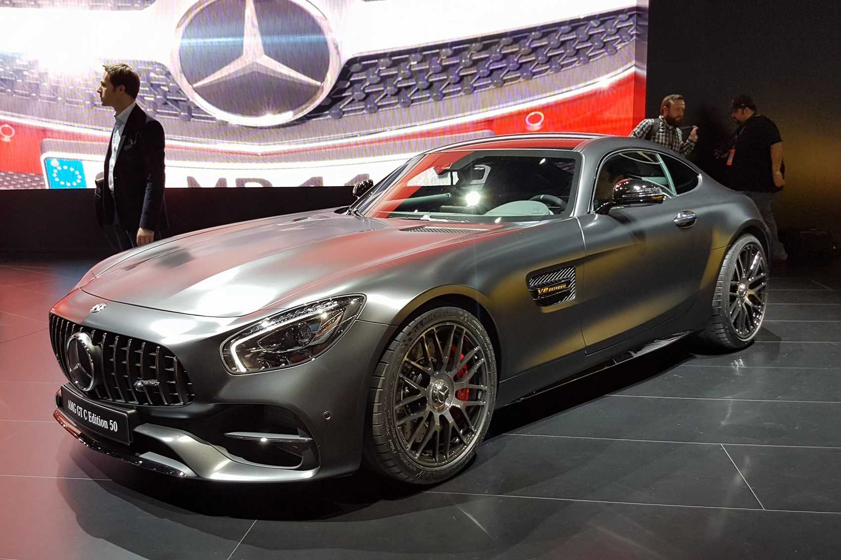 mercedes amg gt range gets more power and four wheel steer for 2017 by car magazine. Black Bedroom Furniture Sets. Home Design Ideas